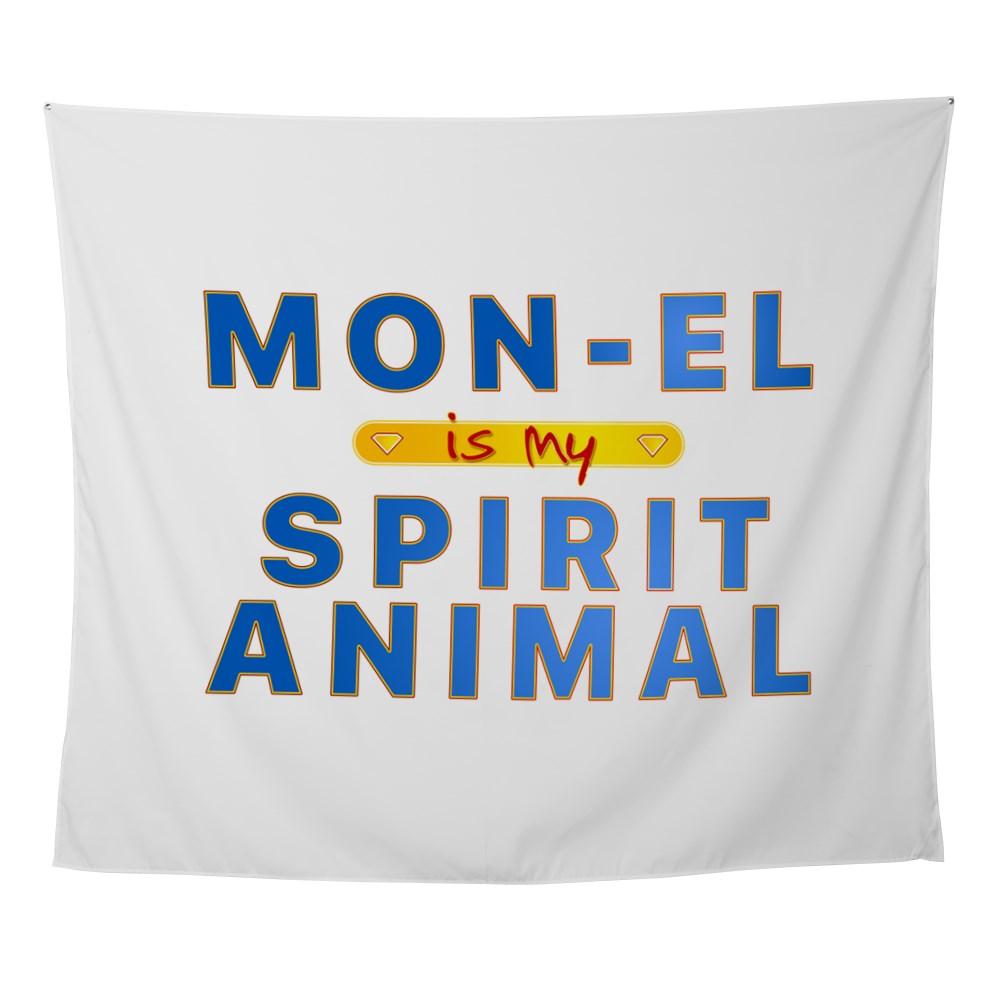 Mon-El is my Spirit Animal Wall Tapestry