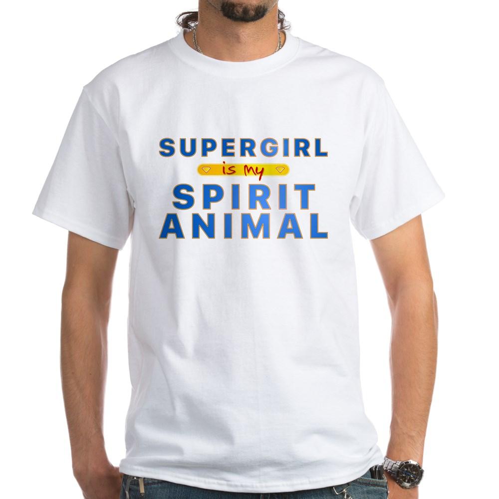 Supergirl is my Spirit Animal White T-Shirt