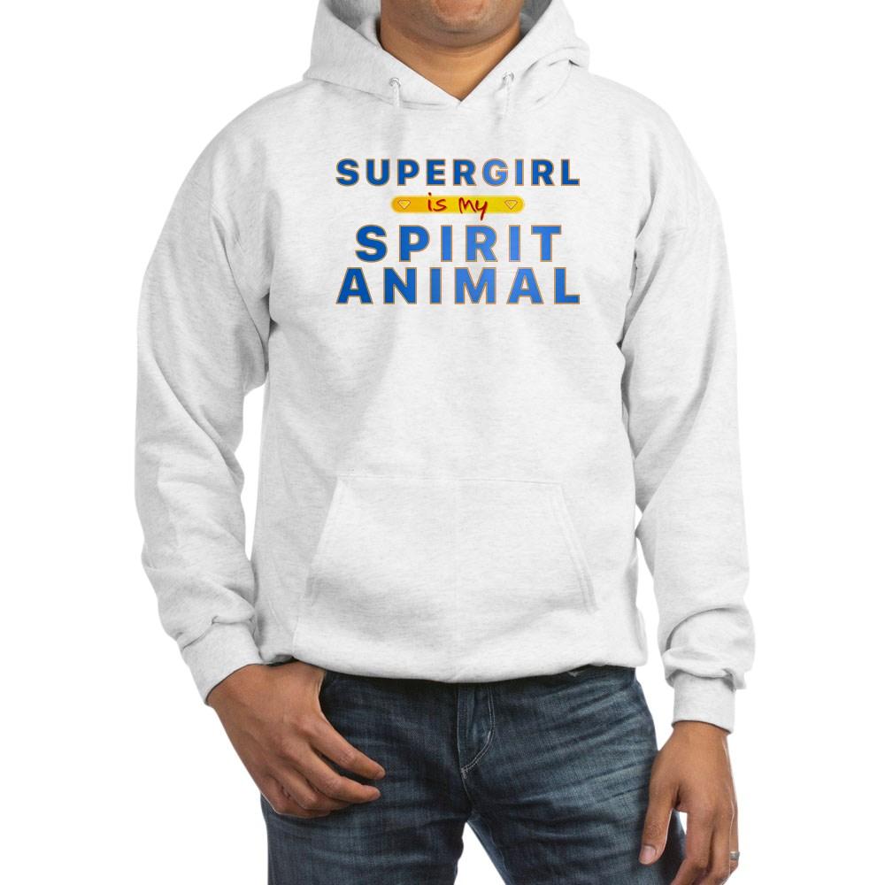 Supergirl is my Spirit Animal Hooded Sweatshirt