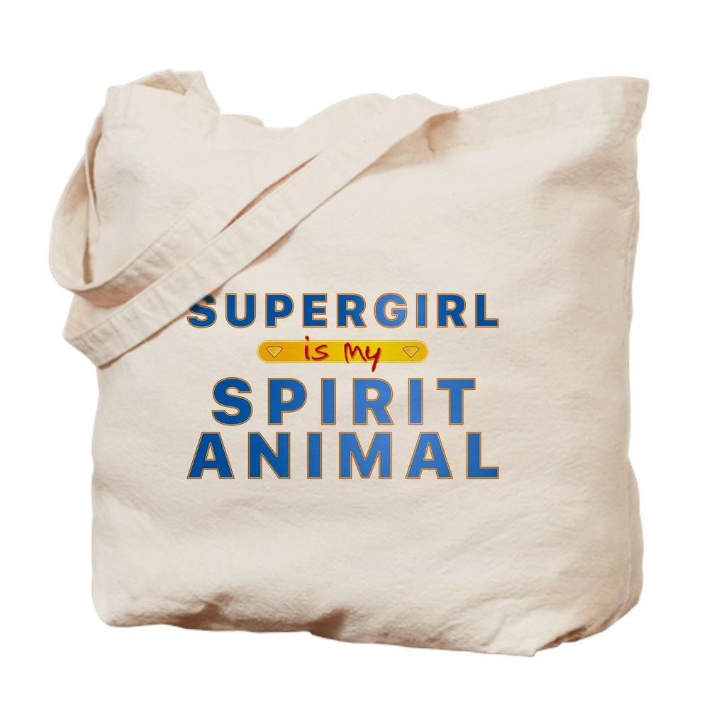 Supergirl is my Spirit Animal Tote Bag