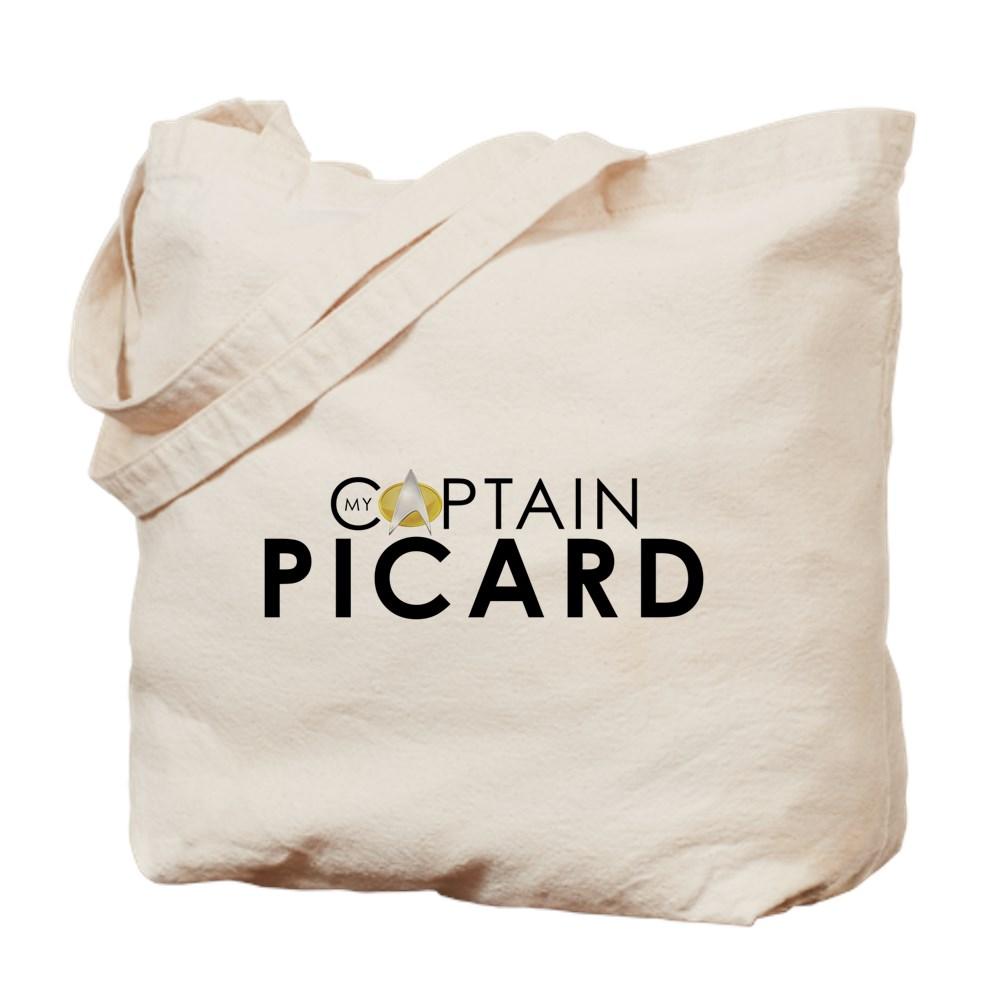 My Captain: Picard Tote Bag