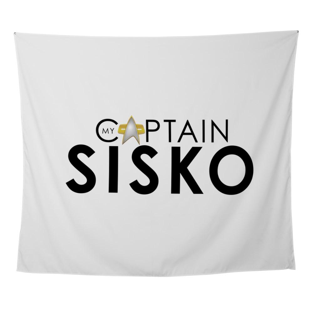 My Captain: Sisko Wall Tapestry