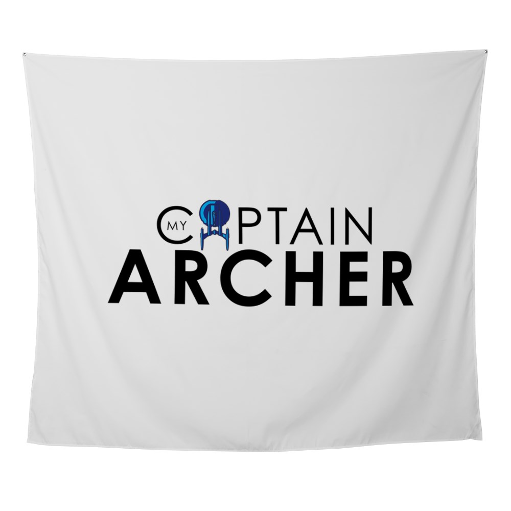 My Captain: Archer Wall Tapestry