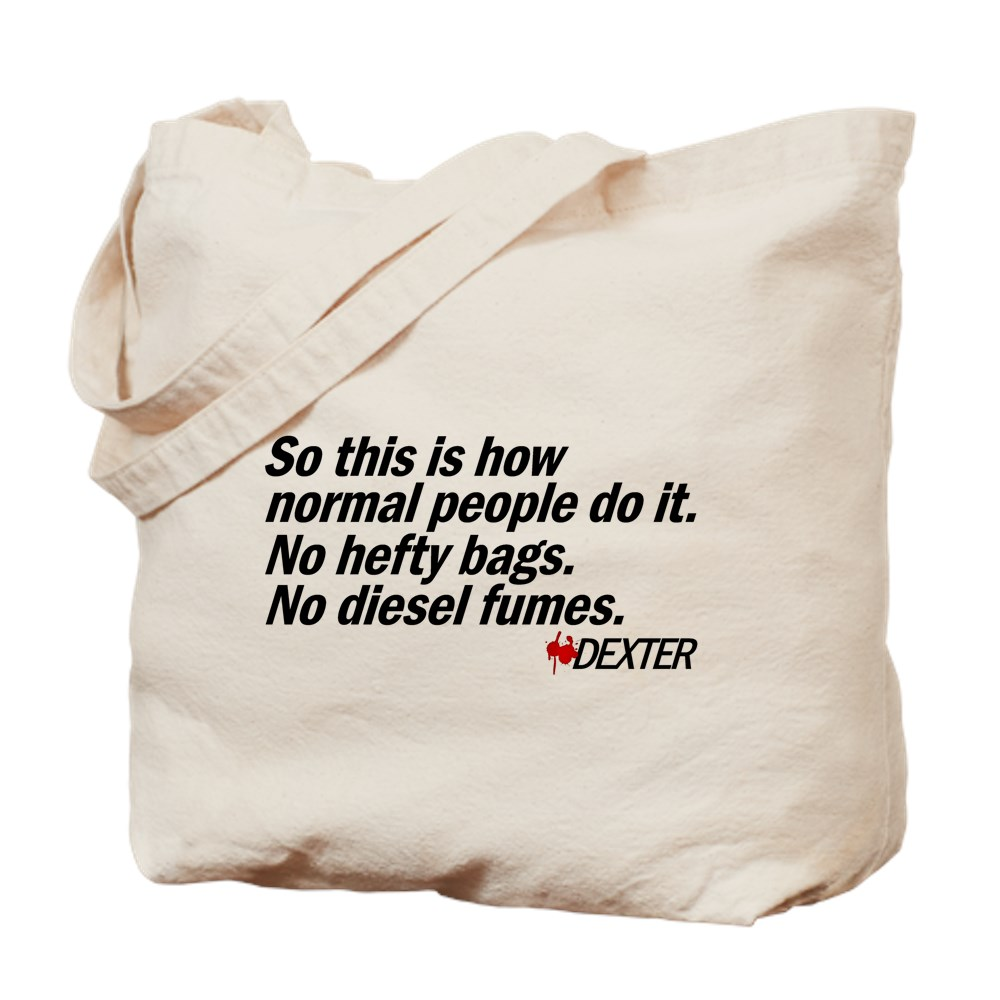So This Is How Normal People Do It - Dexter Quote Tote Bag