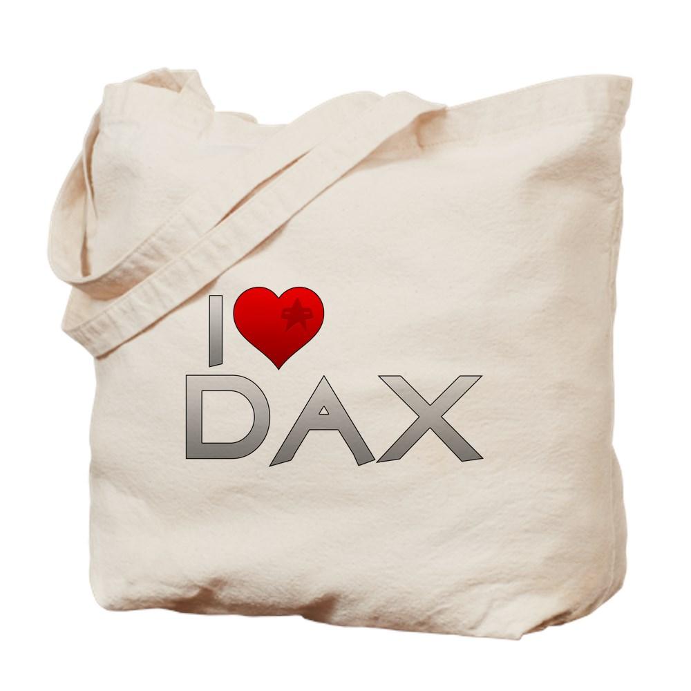 I Heart Dax Tote Bag