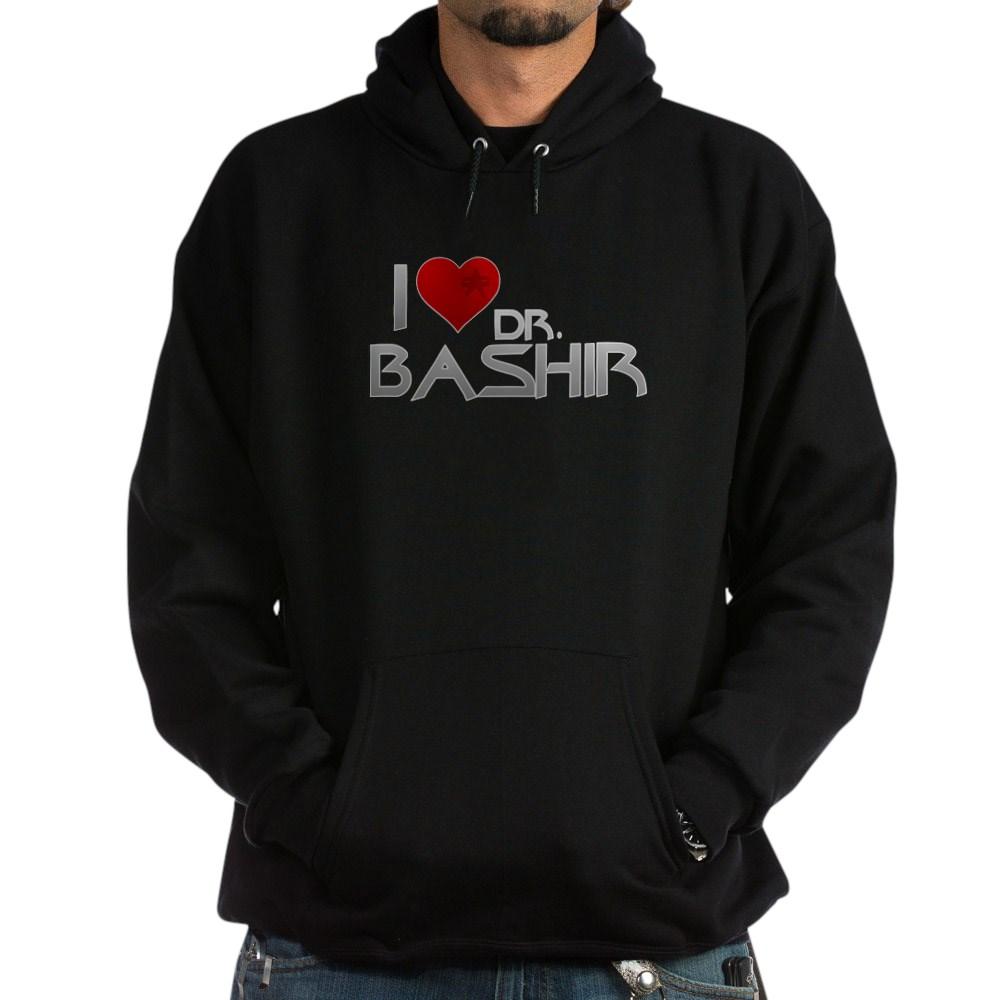 I Heart Dr. Bashir Dark Hoodie
