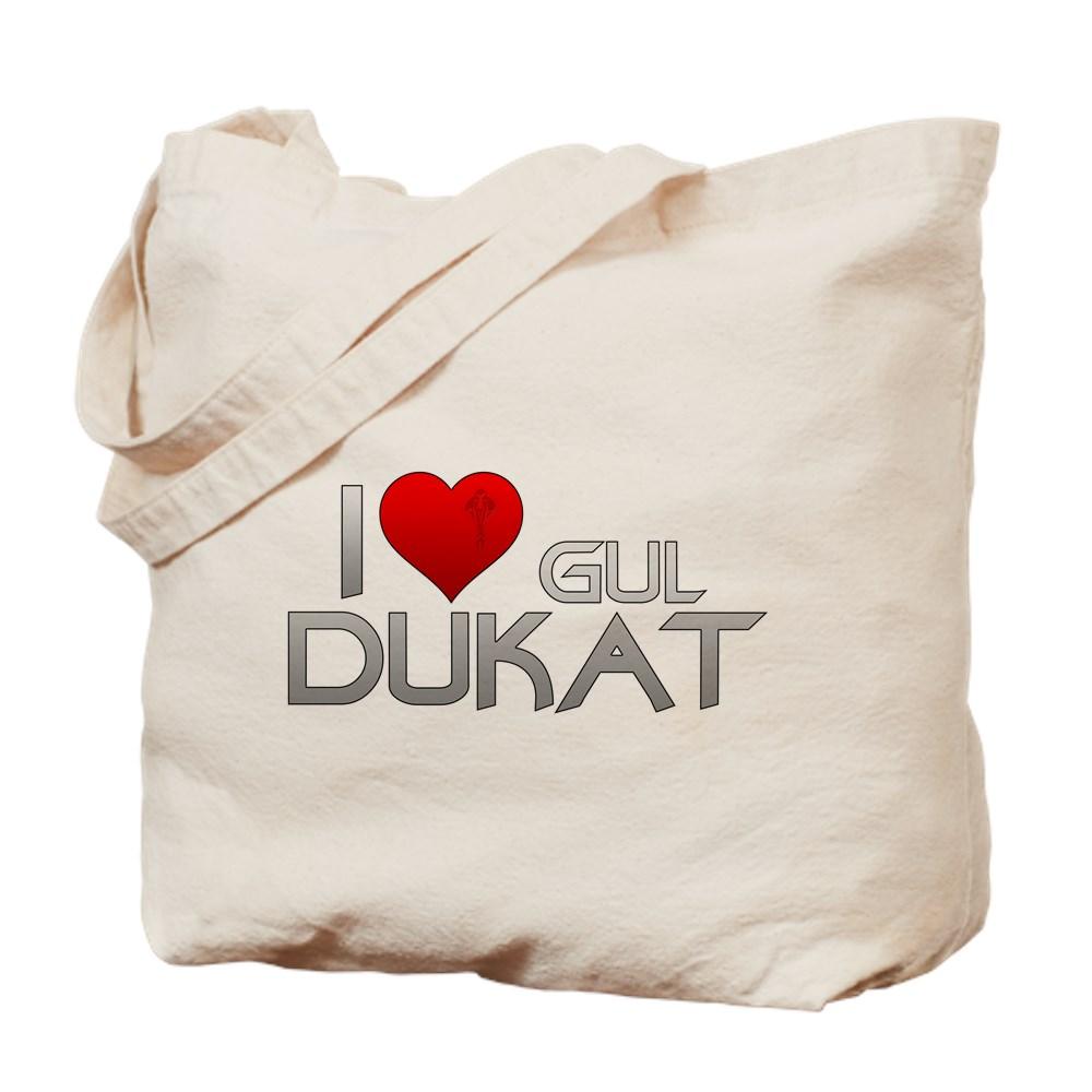 I Heart Gul Dukat Tote Bag