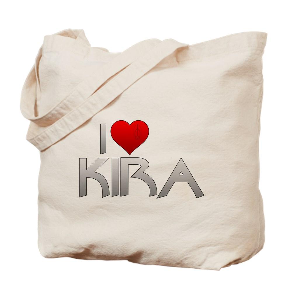 I Heart Kira Nerys Tote Bag