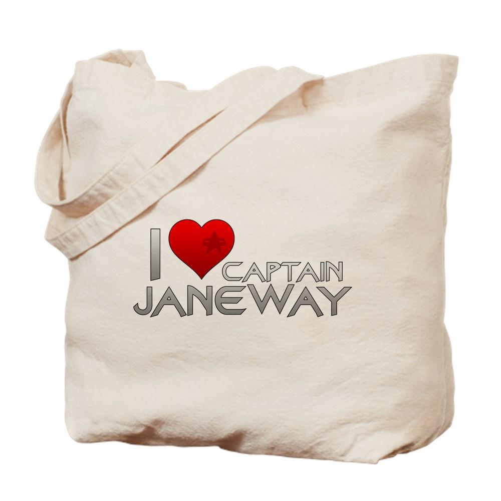 I Heart Captain Janeway Tote Bag