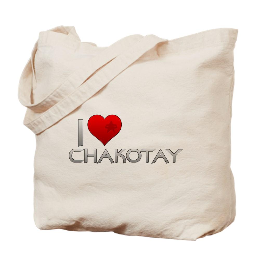 I Heart Chakotay Tote Bag
