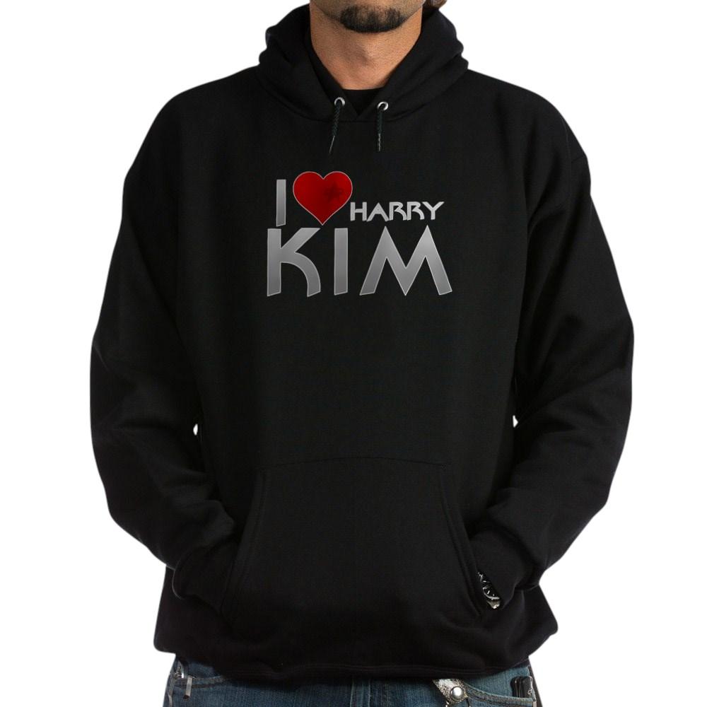 I Heart Harry Kim Dark Hoodie