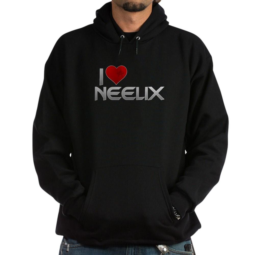 I Heart Neelix Dark Hoodie