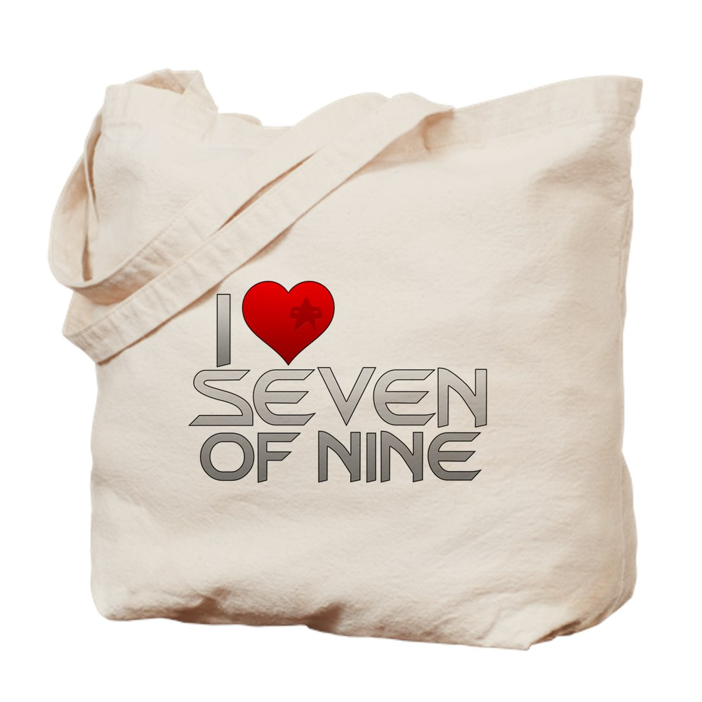 I Heart Seven of Nine Tote Bag