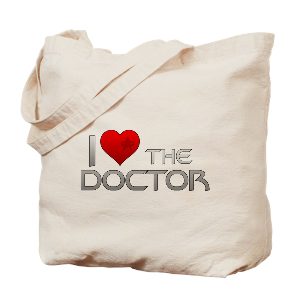 I Heart The Doctor Tote Bag
