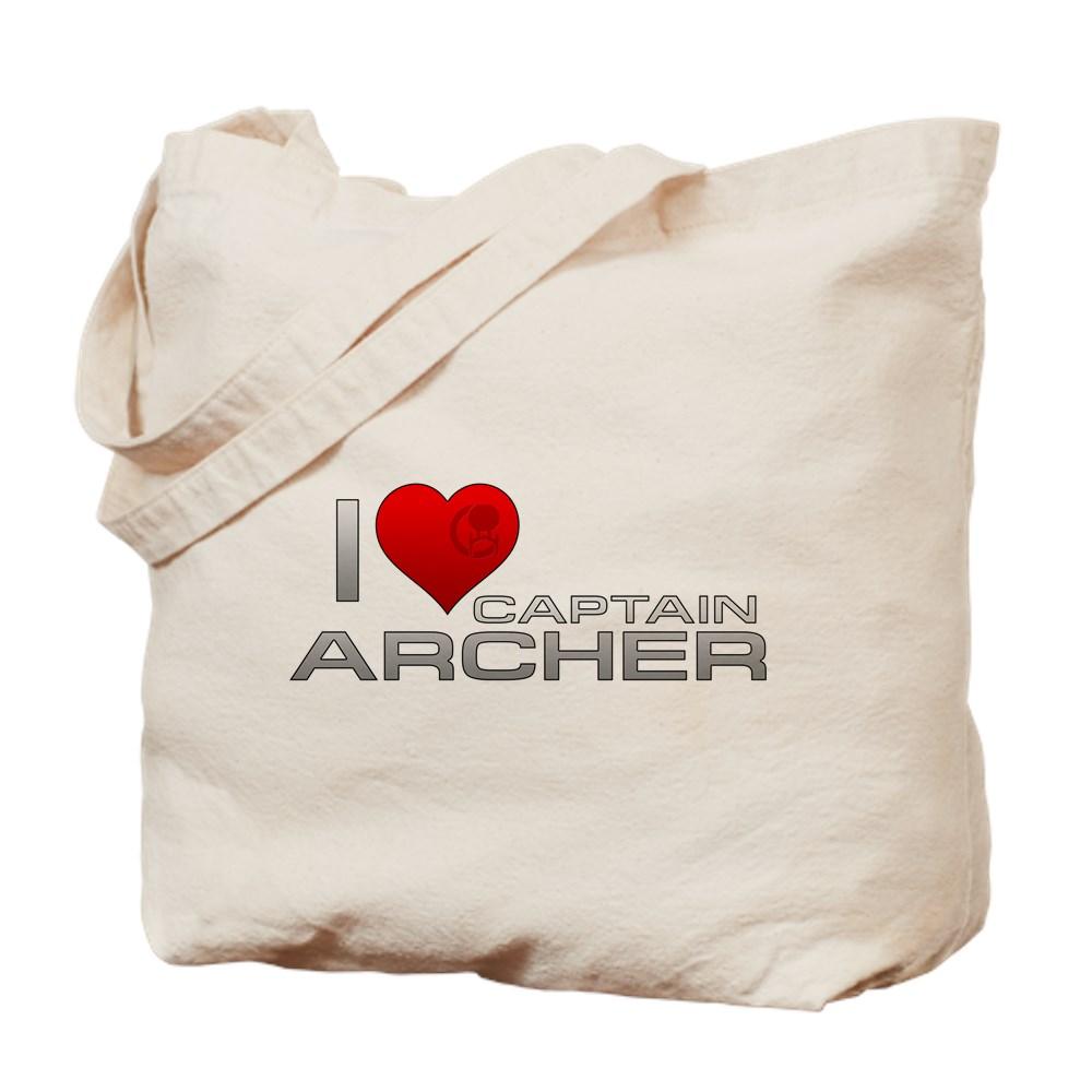 I Heart Captain Archer Tote Bag
