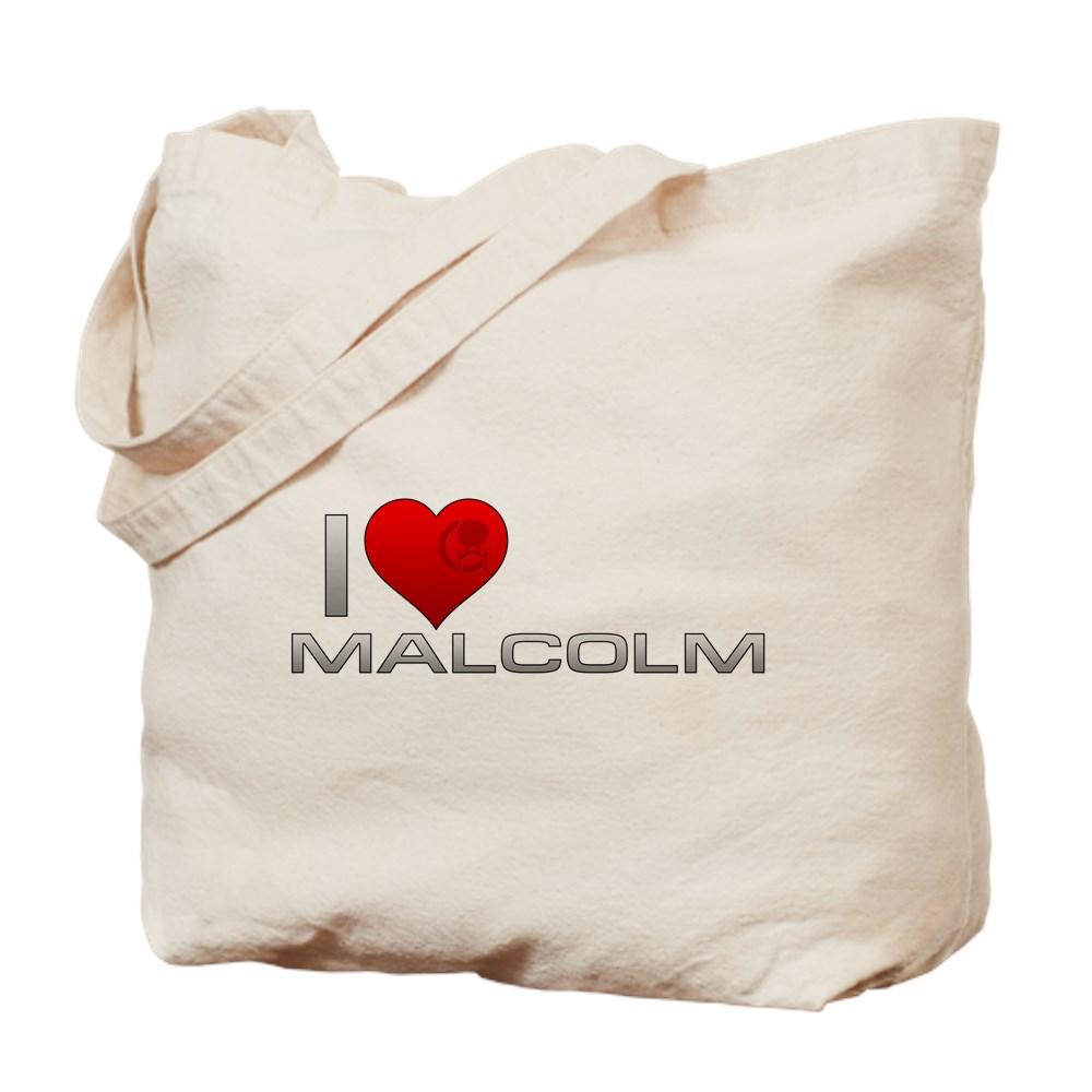 I Heart Malcolm Tote Bag
