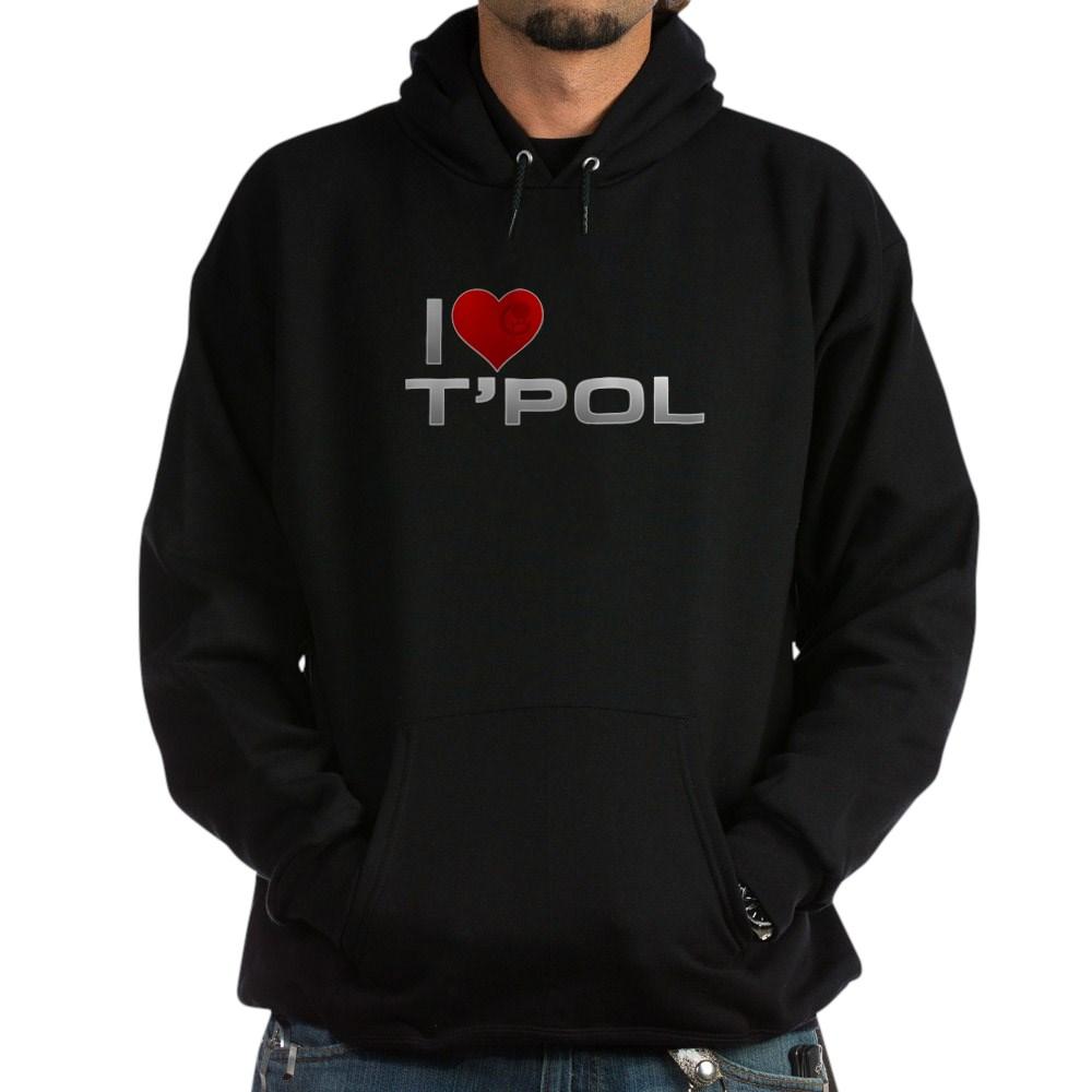 I Heart T'Pol Dark Hoodie