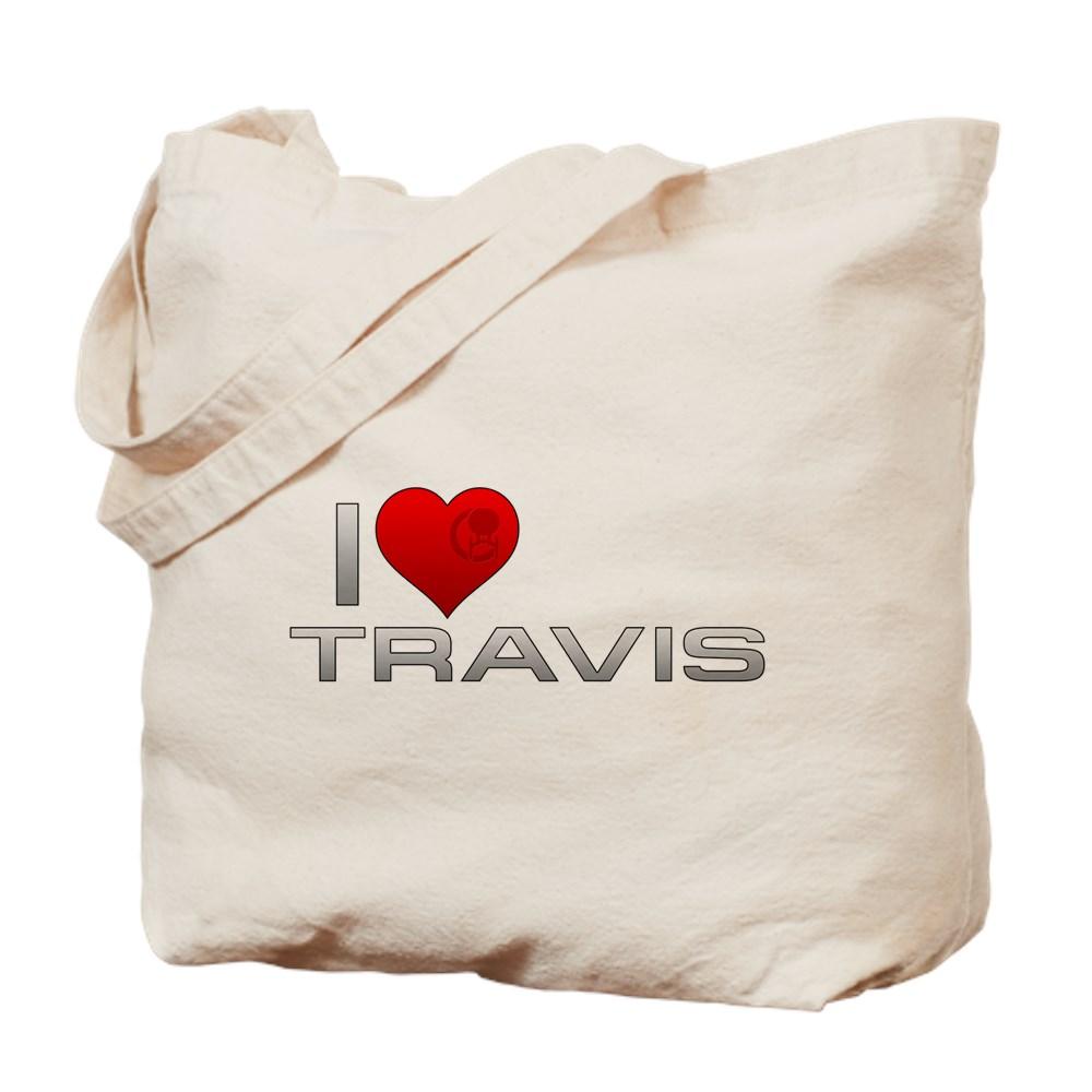 I Heart Travis Tote Bag