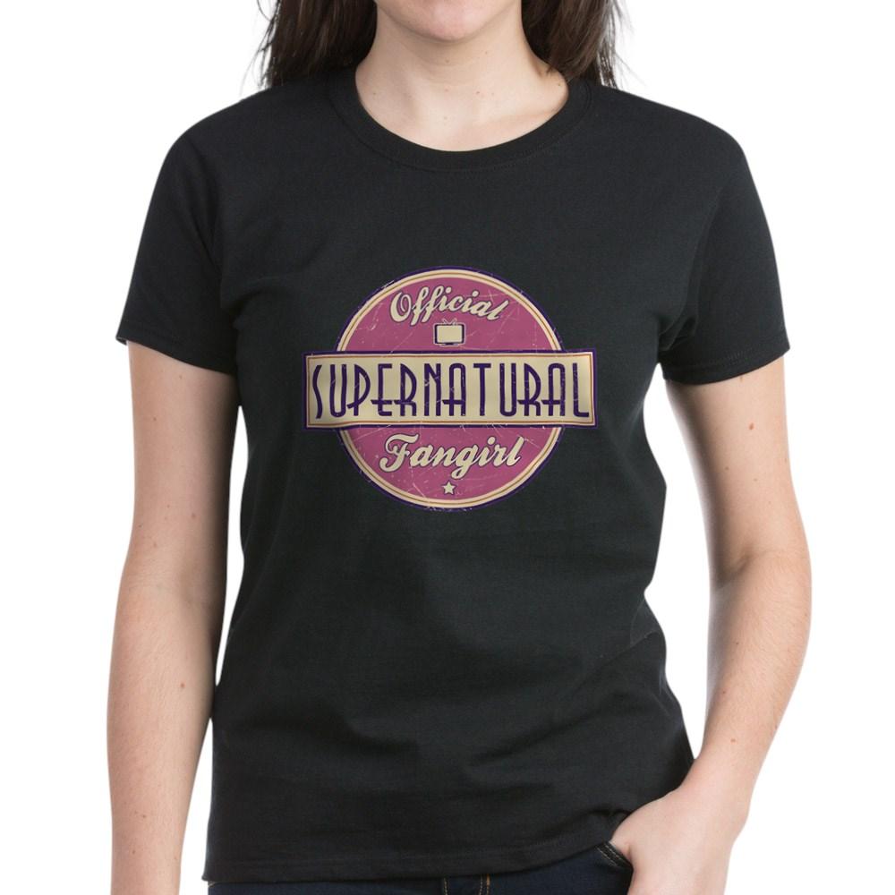 Official Supernatural Fangirl Women's Dark T-Shirt