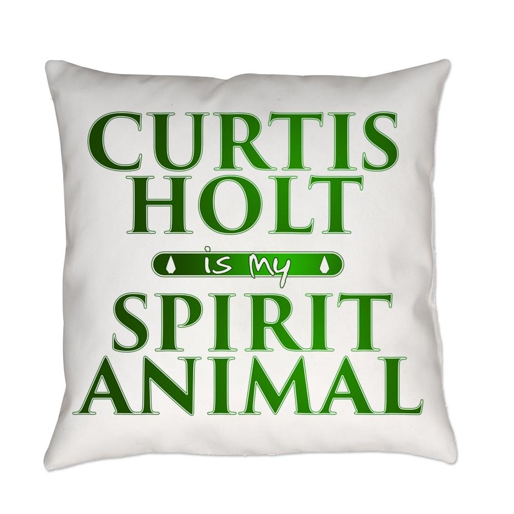Curtis Holt is my Spirit Animal Everyday Pillow