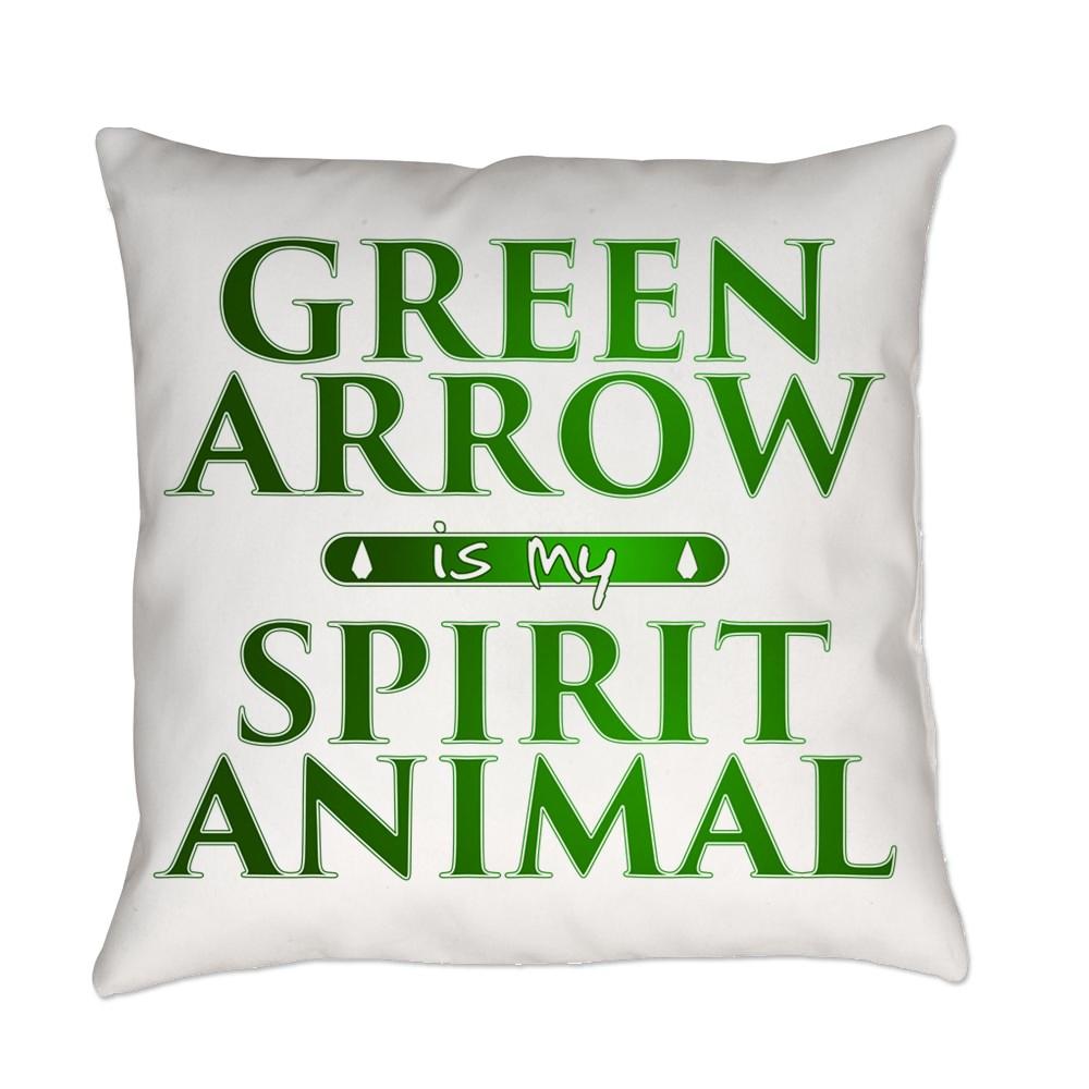 Green Arrow is my Spirit Animal Everyday Pillow