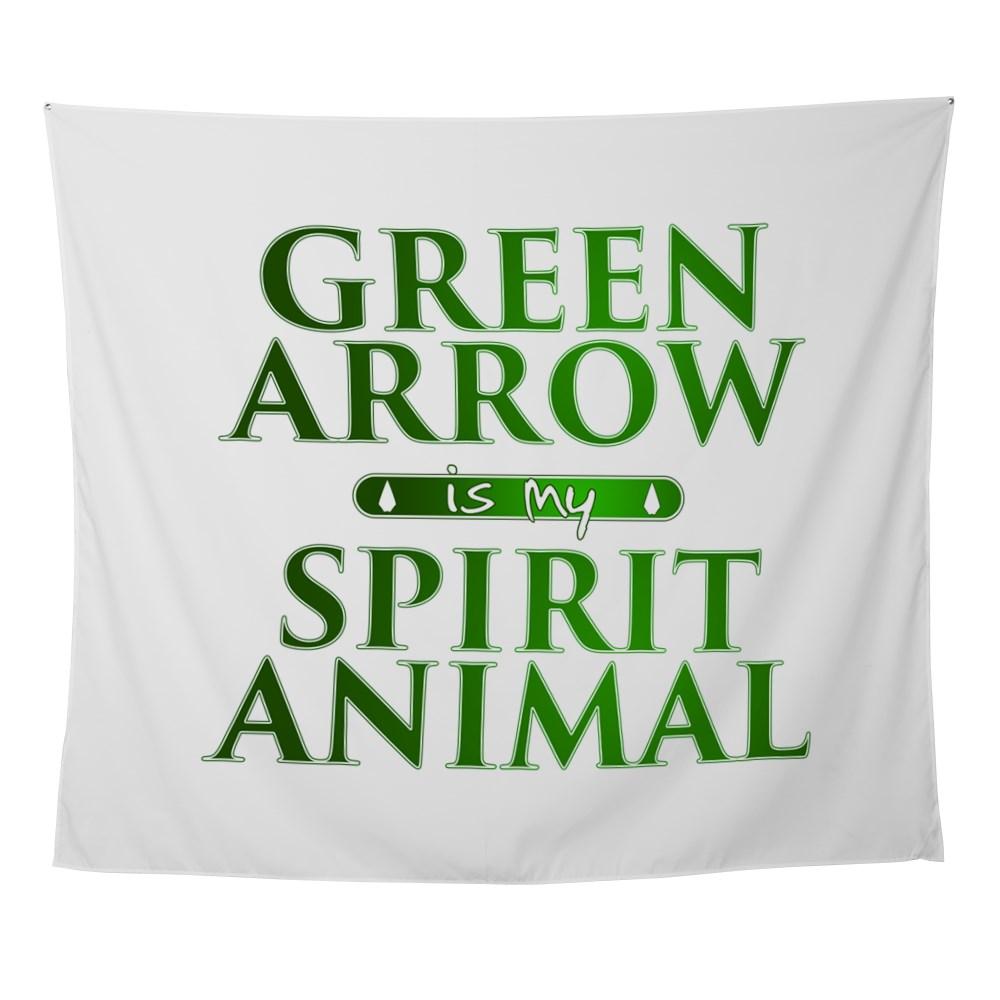 Green Arrow is my Spirit Animal Wall Tapestry