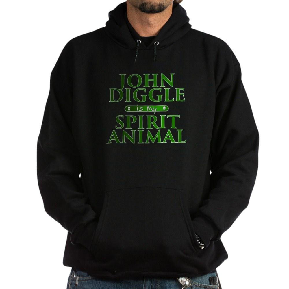 John Diggle is my Spirit Animal Dark Hoodie