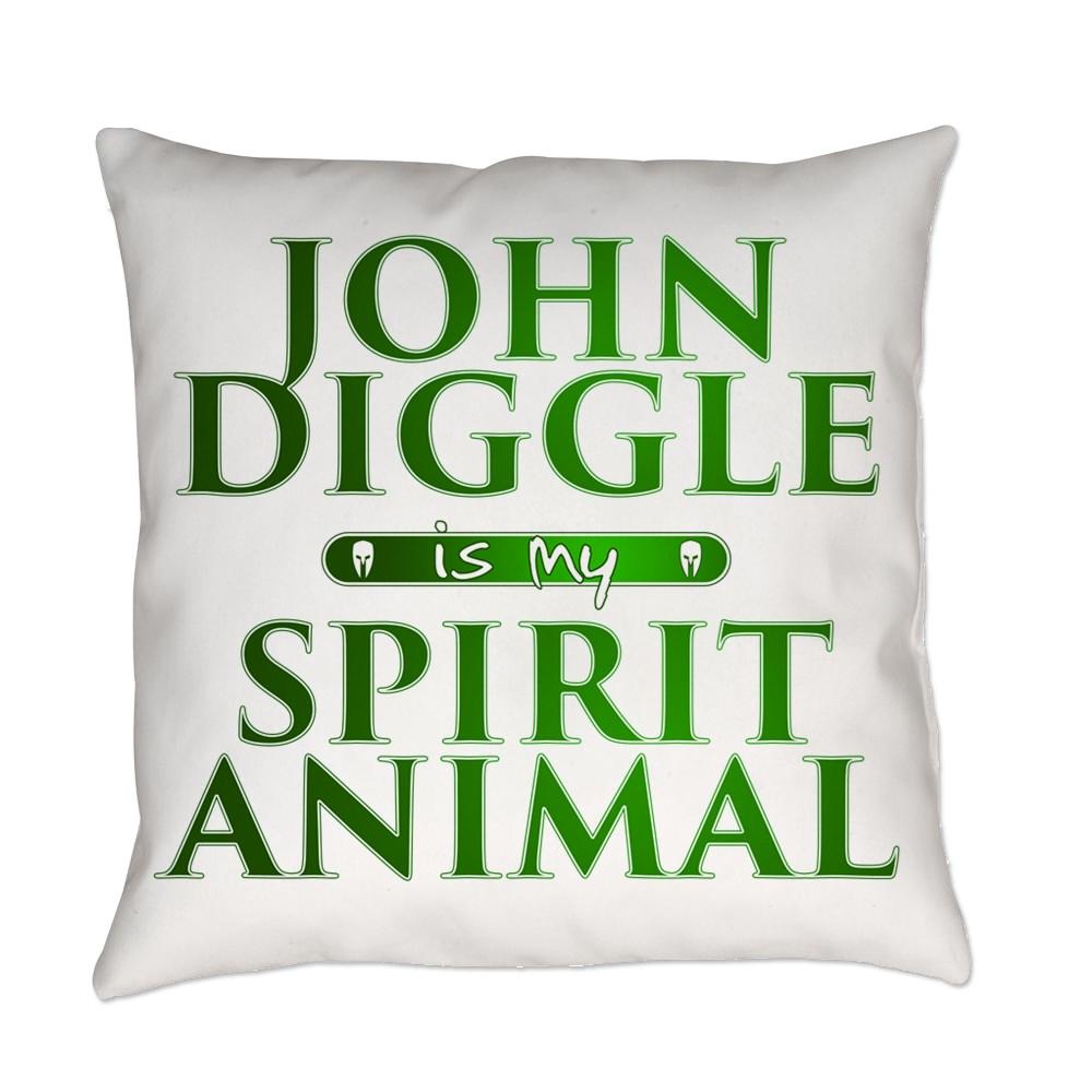 John Diggle is my Spirit Animal Everyday Pillow
