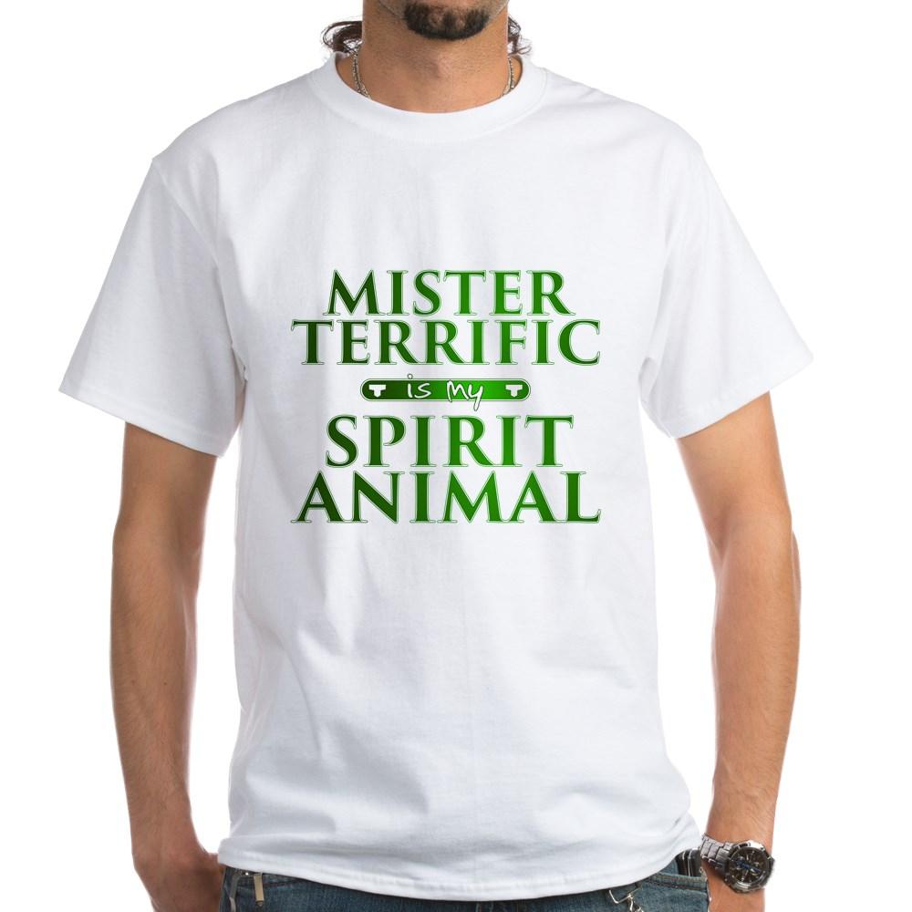 Mister Terrific is my Spirit Animal White T-Shirt