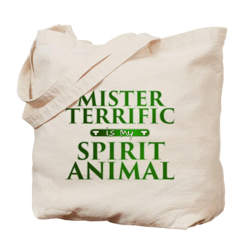 Mister Terrific is my Spirit Animal Tote Bag