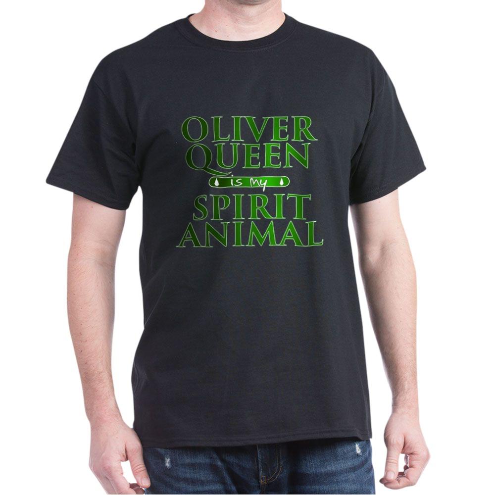 Oliver Queen is my Spirit Animal Dark T-Shirt