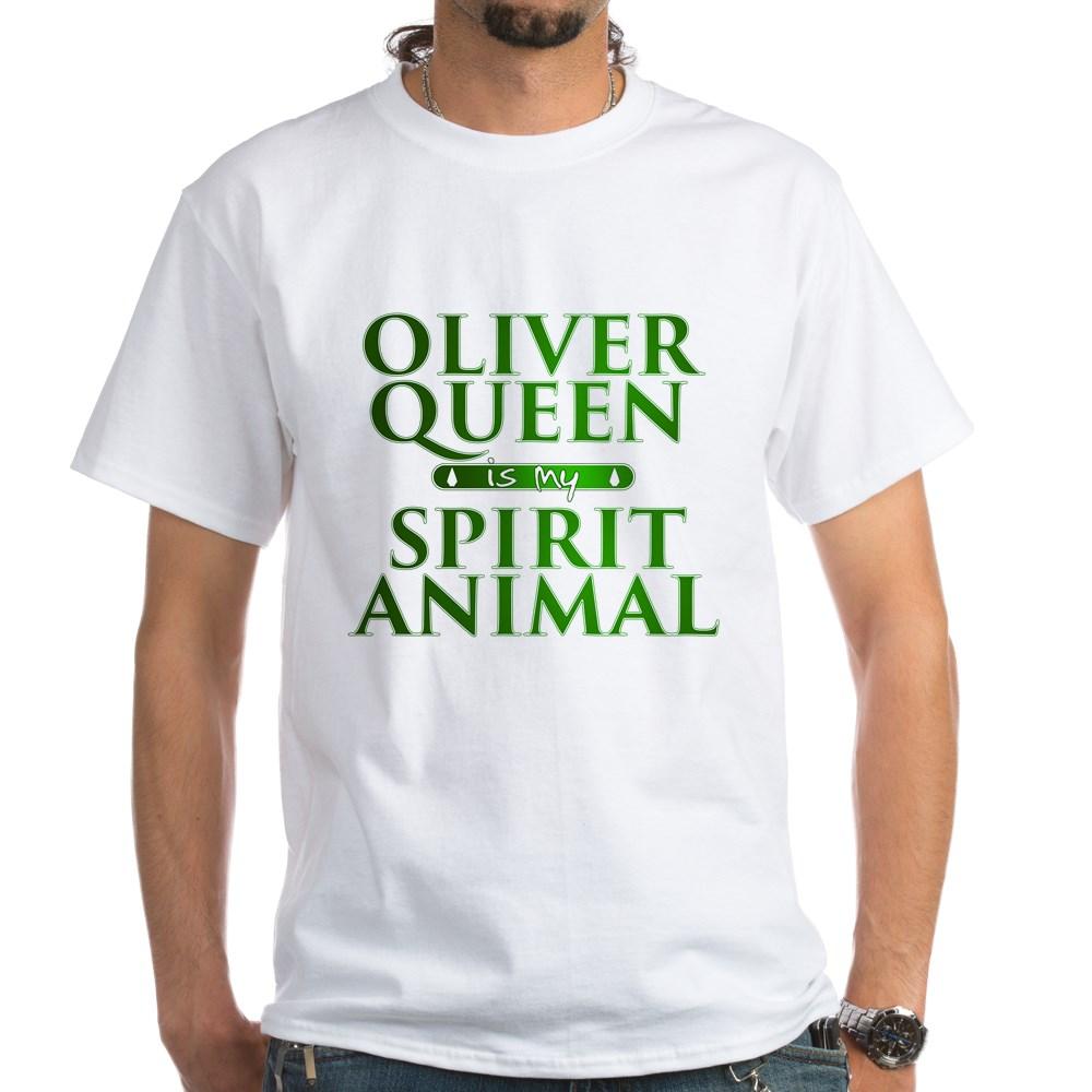 Oliver Queen is my Spirit Animal White T-Shirt