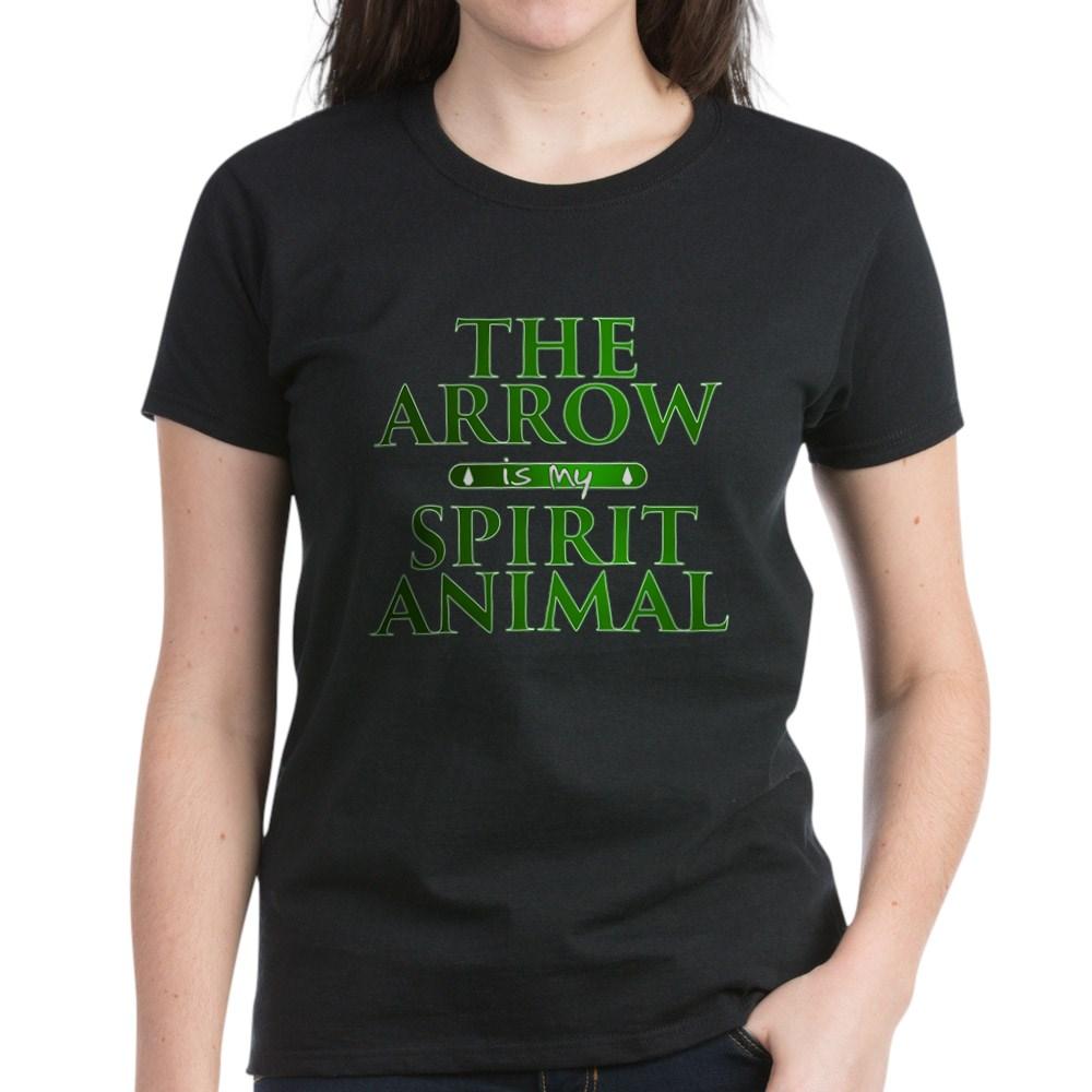 The Arrow is my Spirit Animal Women's Dark T-Shirt