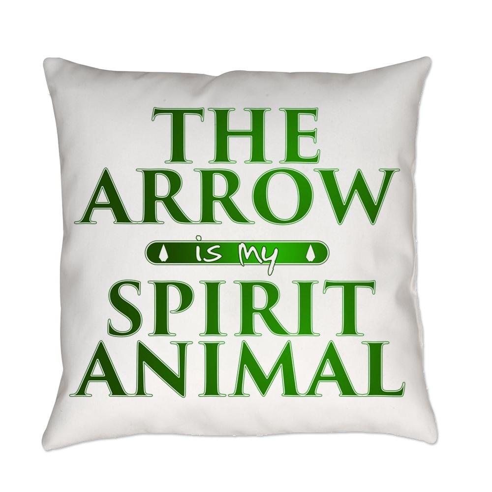 The Arrow is my Spirit Animal Everyday Pillow