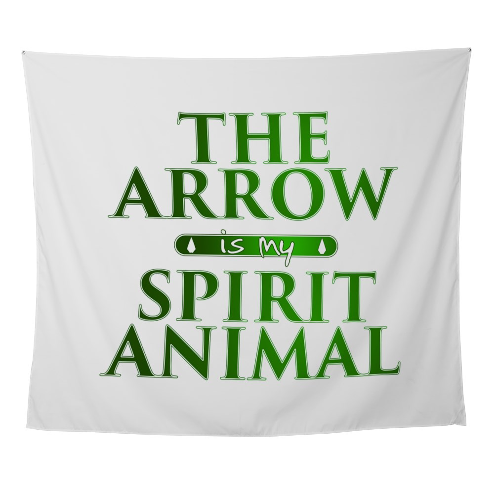 The Arrow is my Spirit Animal Wall Tapestry