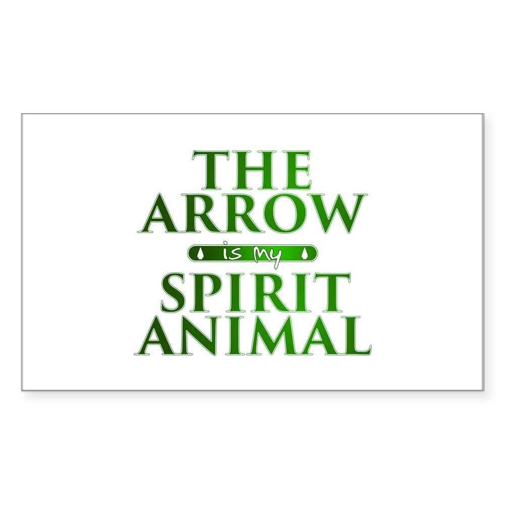 The Arrow is my Spirit Animal Rectangle Sticker