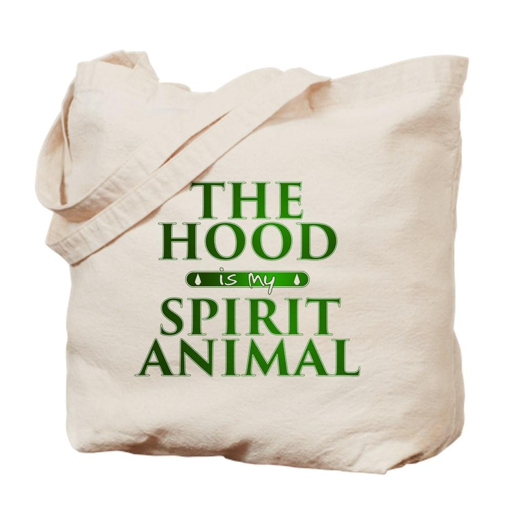 The Hood is my Spirit Animal Tote Bag