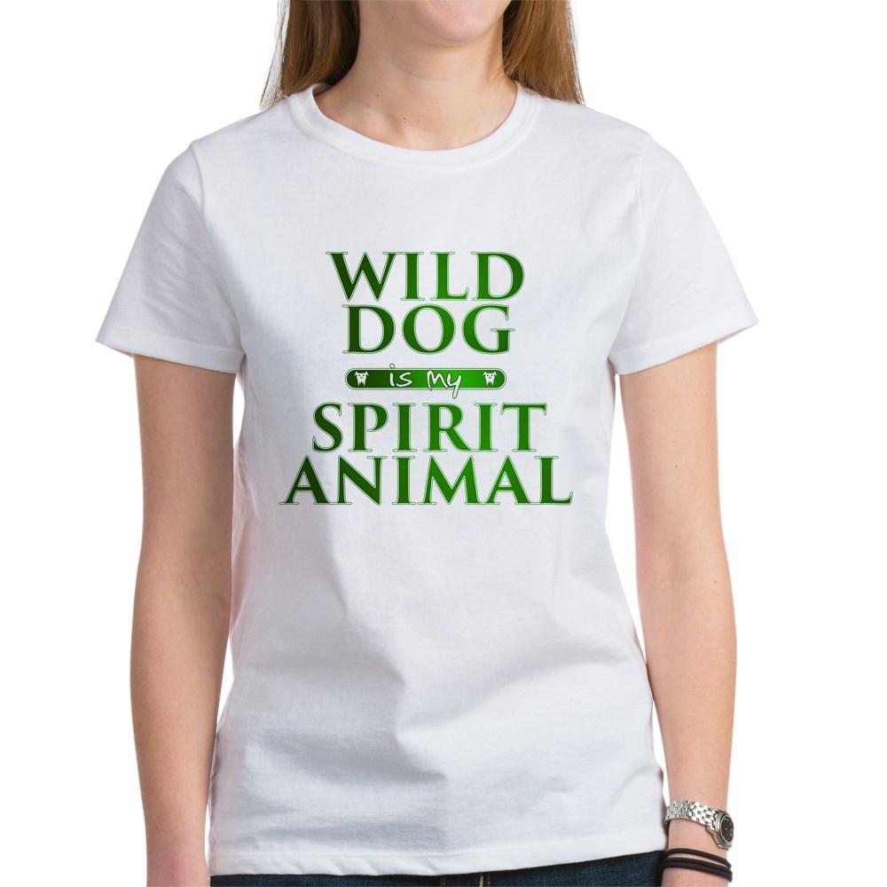 Wild Dog is my Spirit Animal Women's T-Shirt
