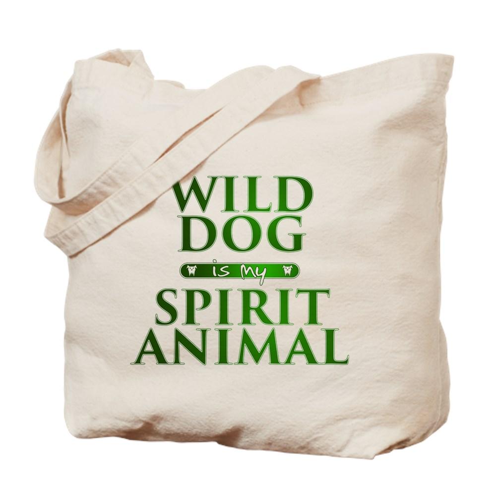 Wild Dog is my Spirit Animal Tote Bag