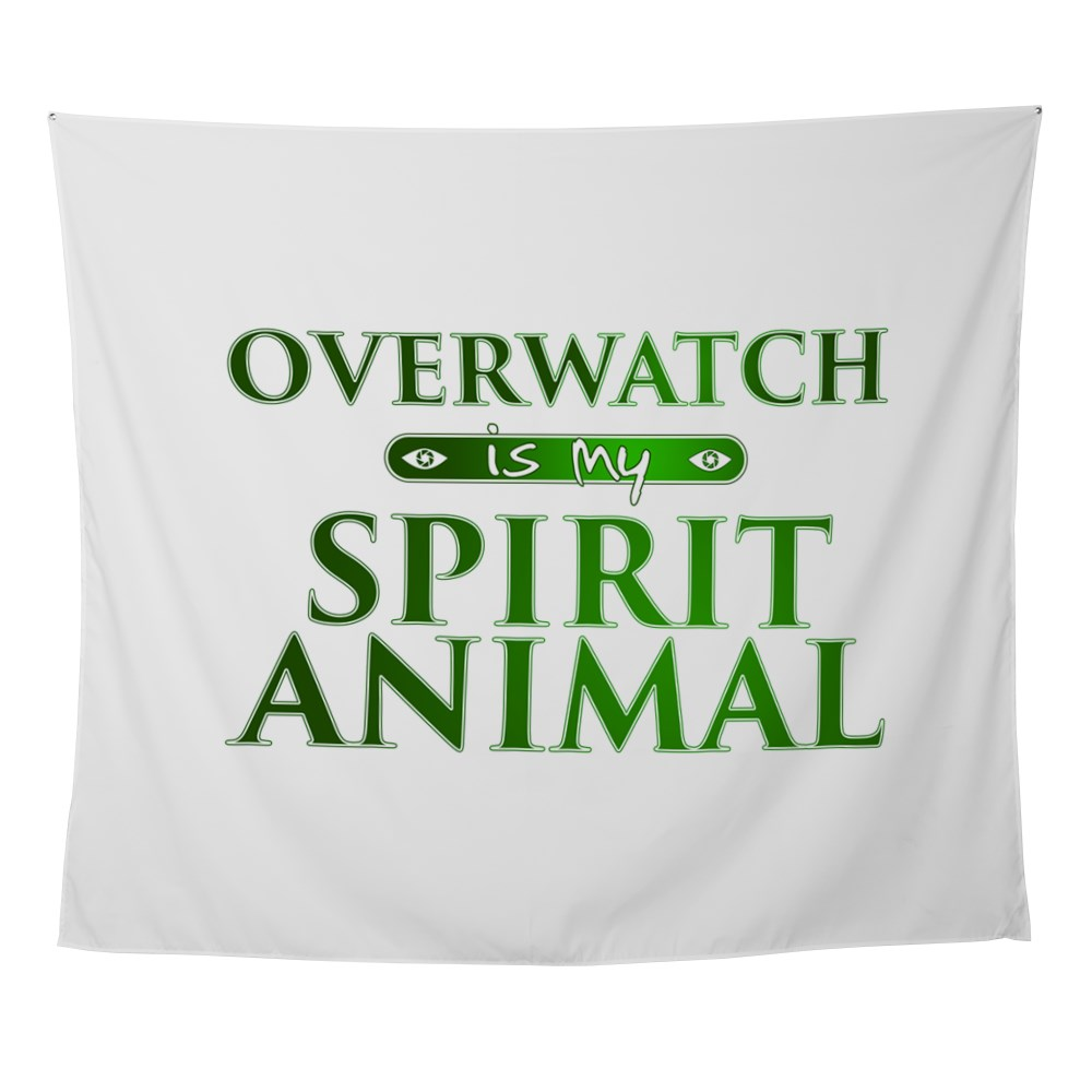Overwatch is my Spirit Animal Wall Tapestry