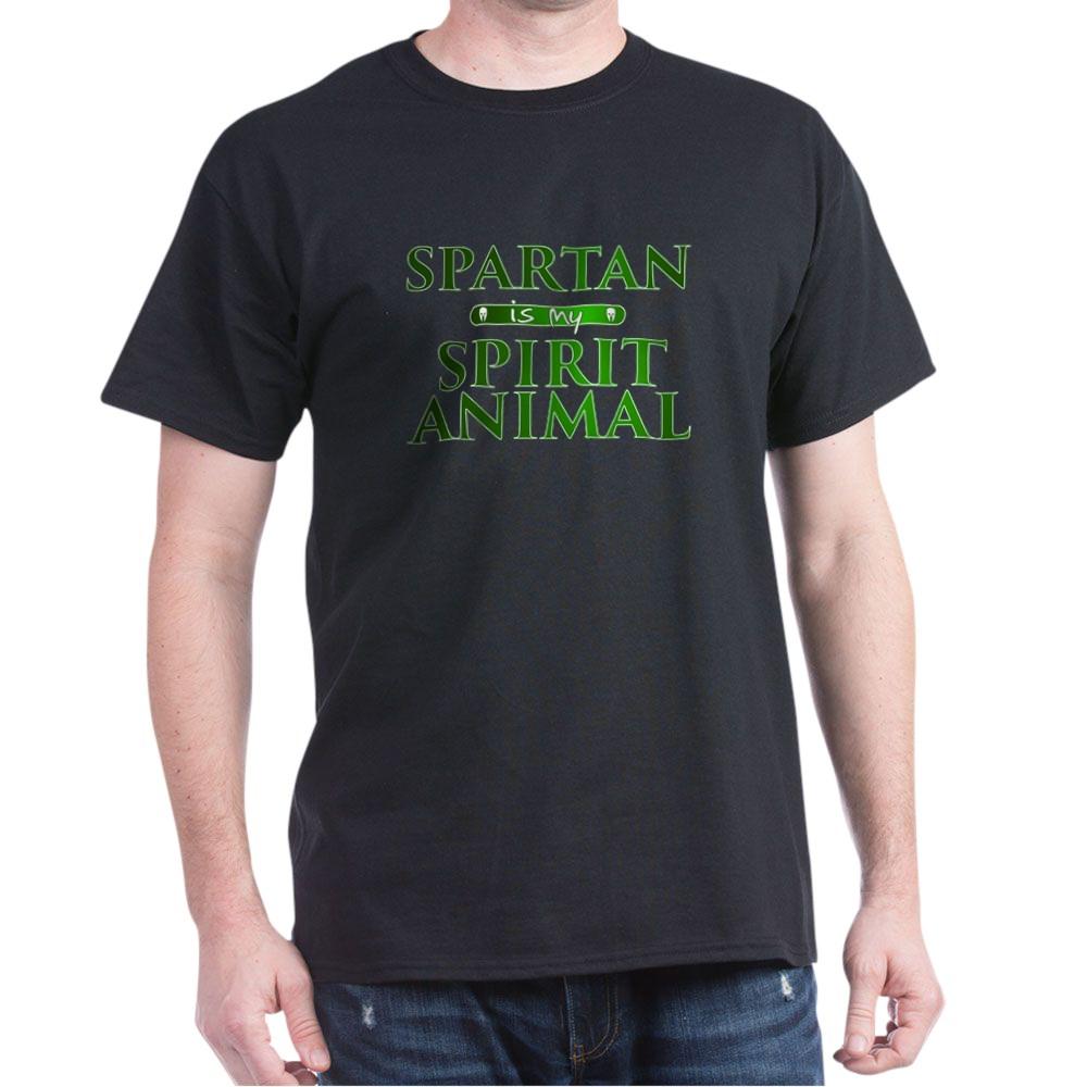 Spartan is my Spirit Animal Dark T-Shirt