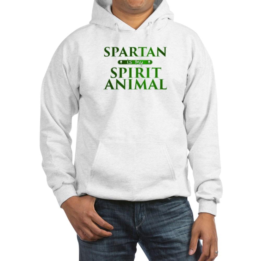 Spartan is my Spirit Animal Hooded Sweatshirt