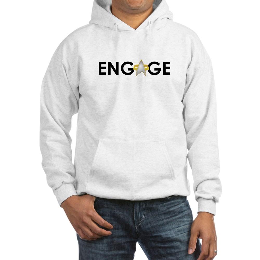 Engage Star Trek Emblem Hooded Sweatshirt