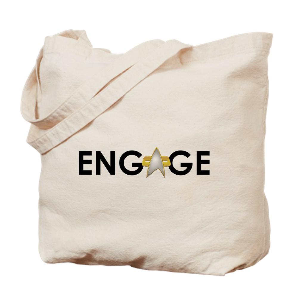 Engage Star Trek Emblem Tote Bag