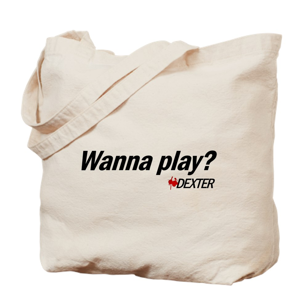 Wanna Play? - Dexter Quote Tote Bag
