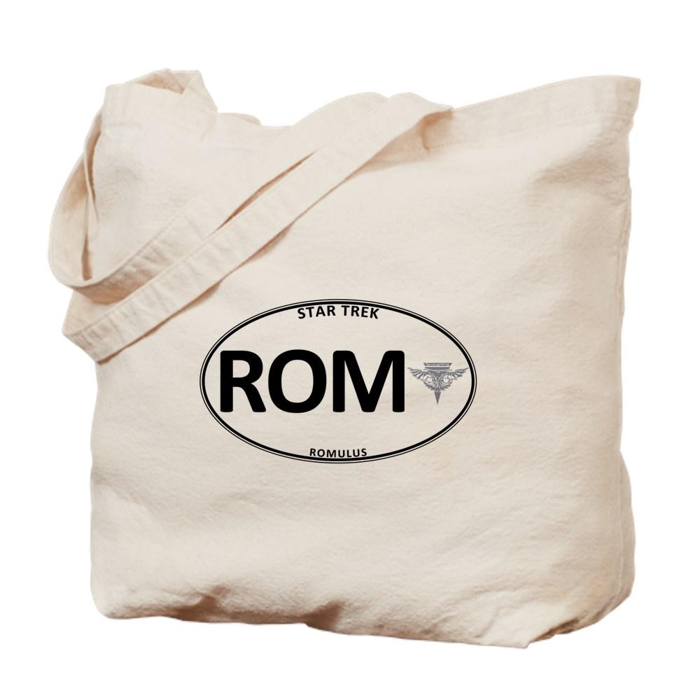 Star Trek: Romulus White Oval Tote Bag