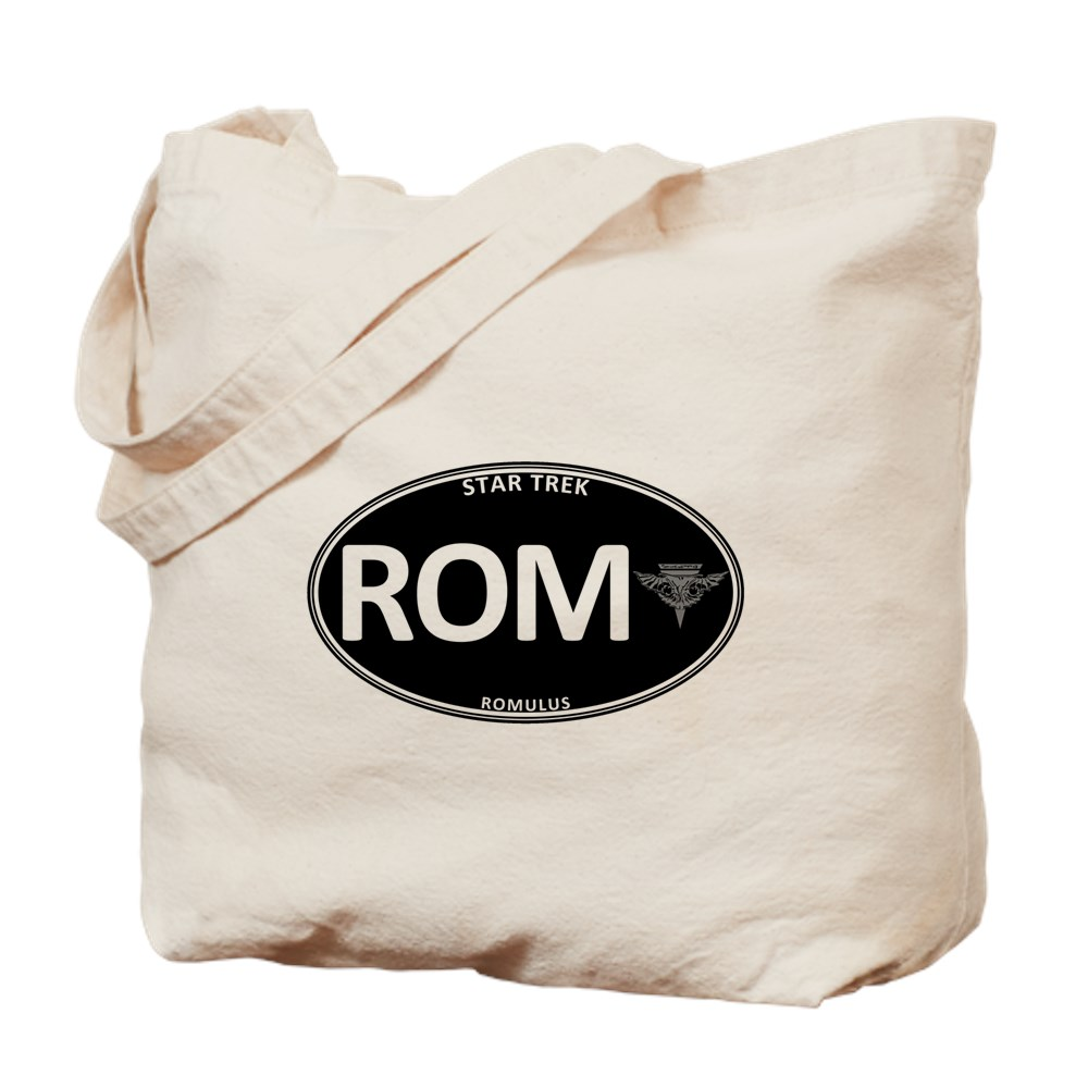 Star Trek: Romulus Black Oval Tote Bag