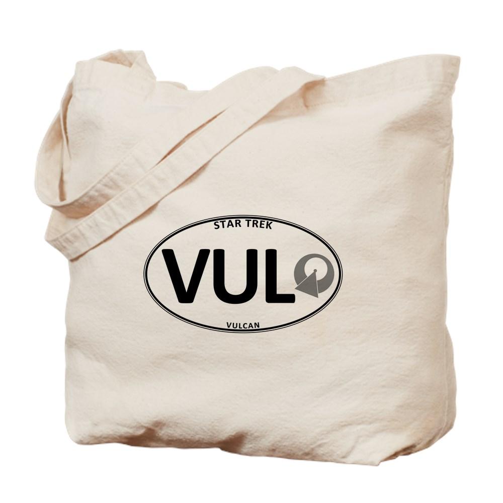Star Trek: Vulcan White Oval Tote Bag