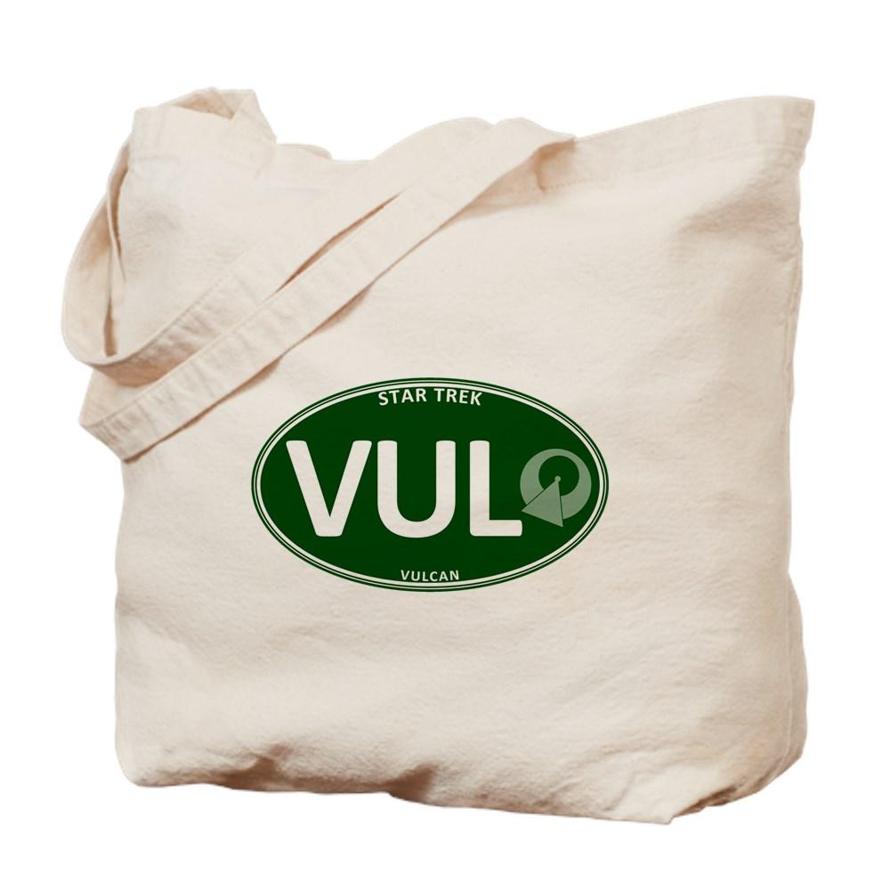 Star Trek: Vulcan Green Oval Tote Bag