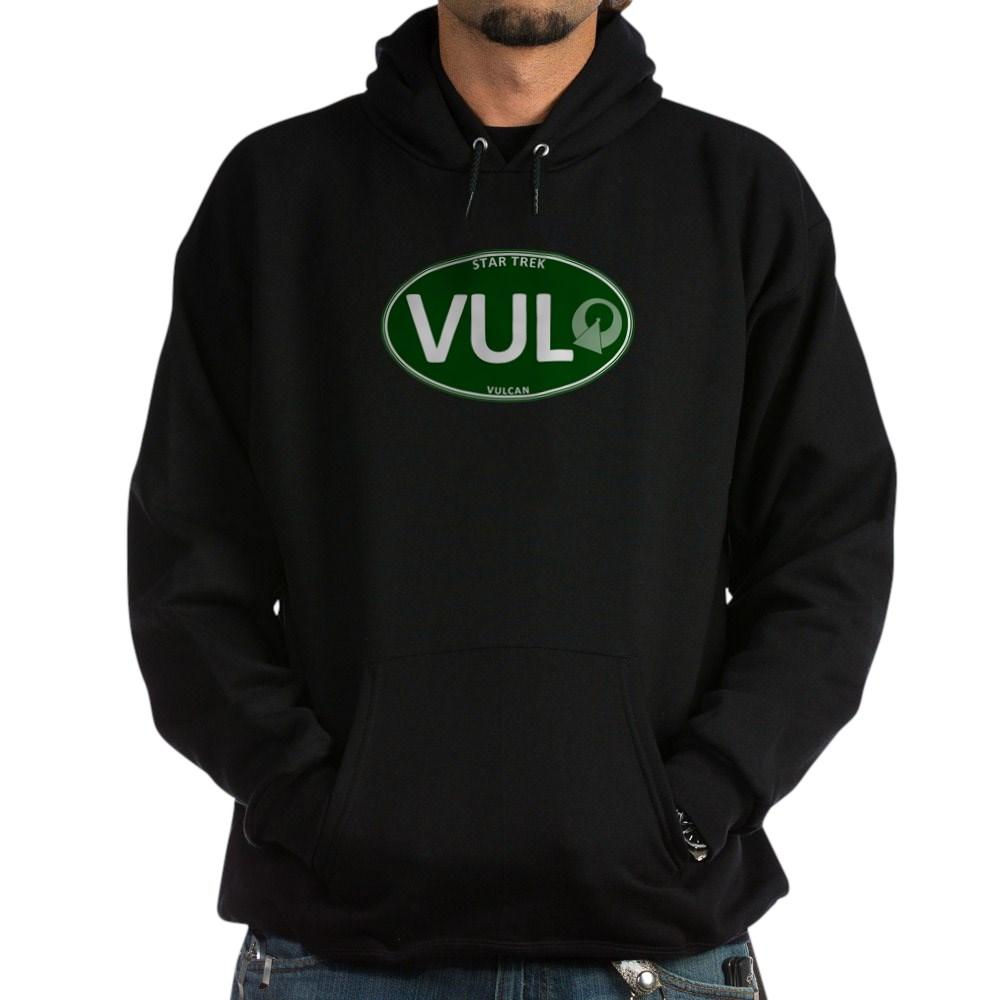 Star Trek: Vulcan Green Oval Dark Hoodie